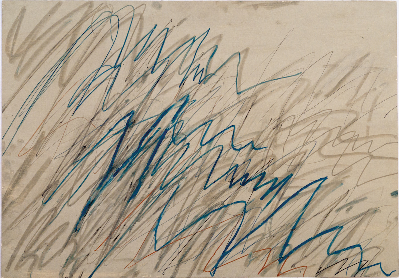 Cy Twombly, Untitled, 1971. Courtesy: Cy Twombly Foundation.