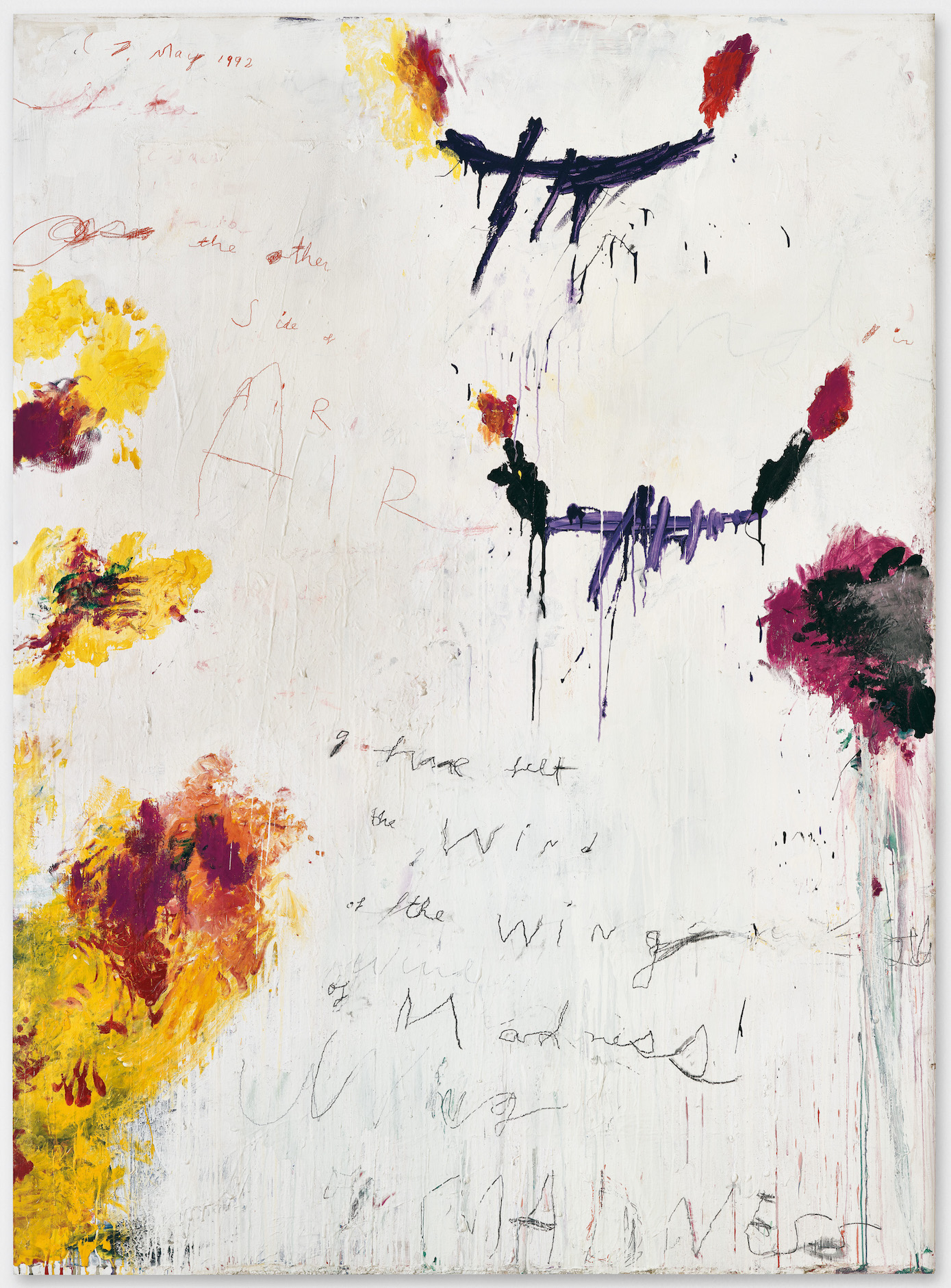 Cy Twombly, Untitled, 1992. Courtesy: Cy Twombly Foundation