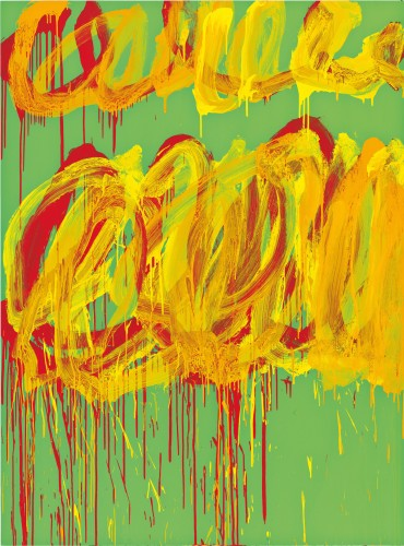 Cy Twombly, Untitled (Camino Real VI), 2011. Courtesy: Cy Twombly Foundation.
