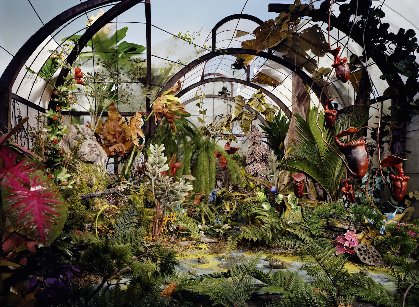 © Lori Nix, Botanic Garden, 2008.