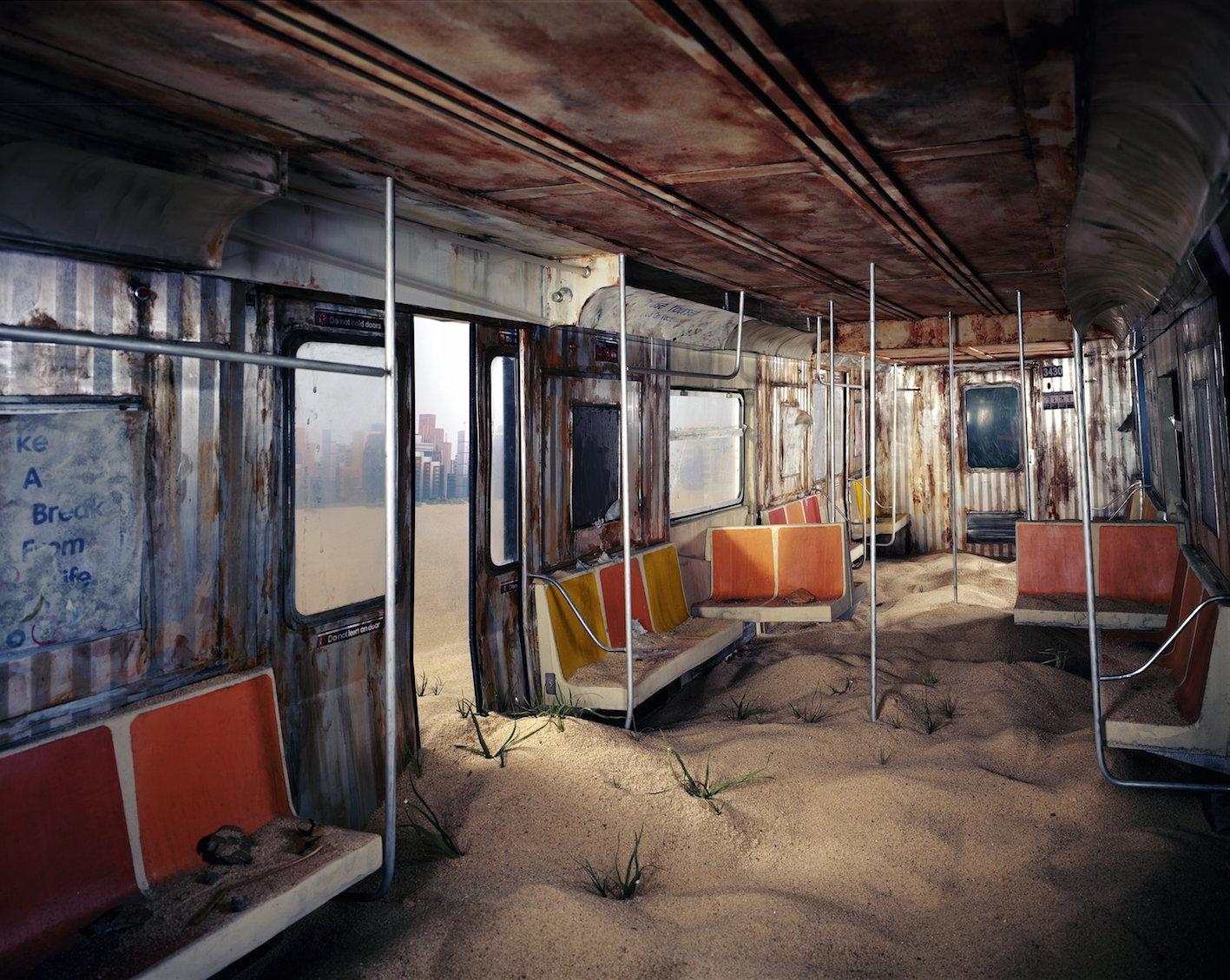 © Lori Nix, Subway, 2012.