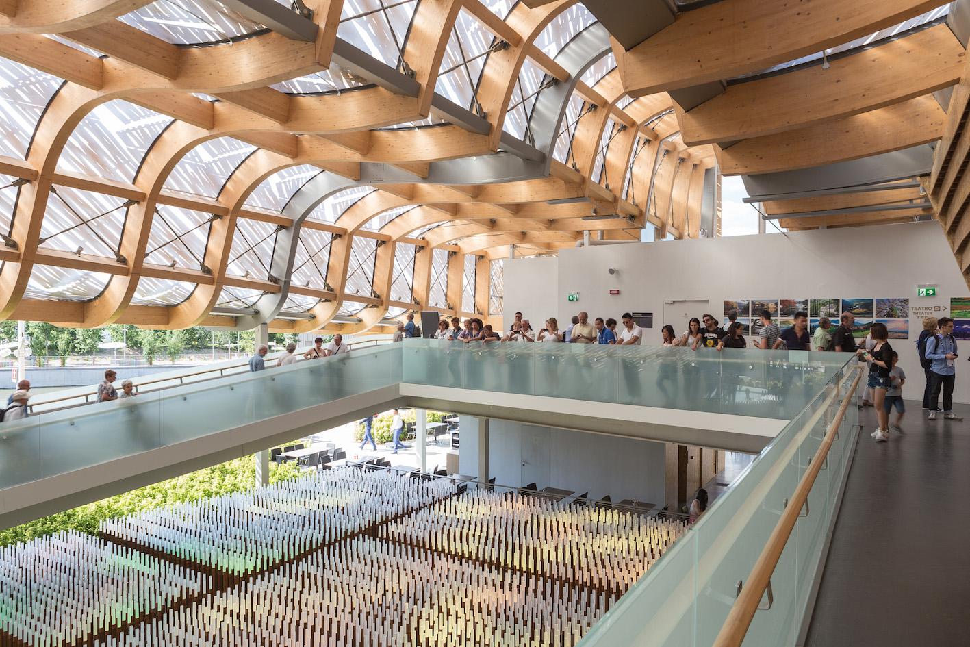 Padiglione Cina. Expo Milano 2015.