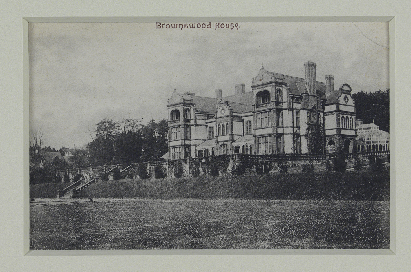 Brownswood House. 1896. © NMI.