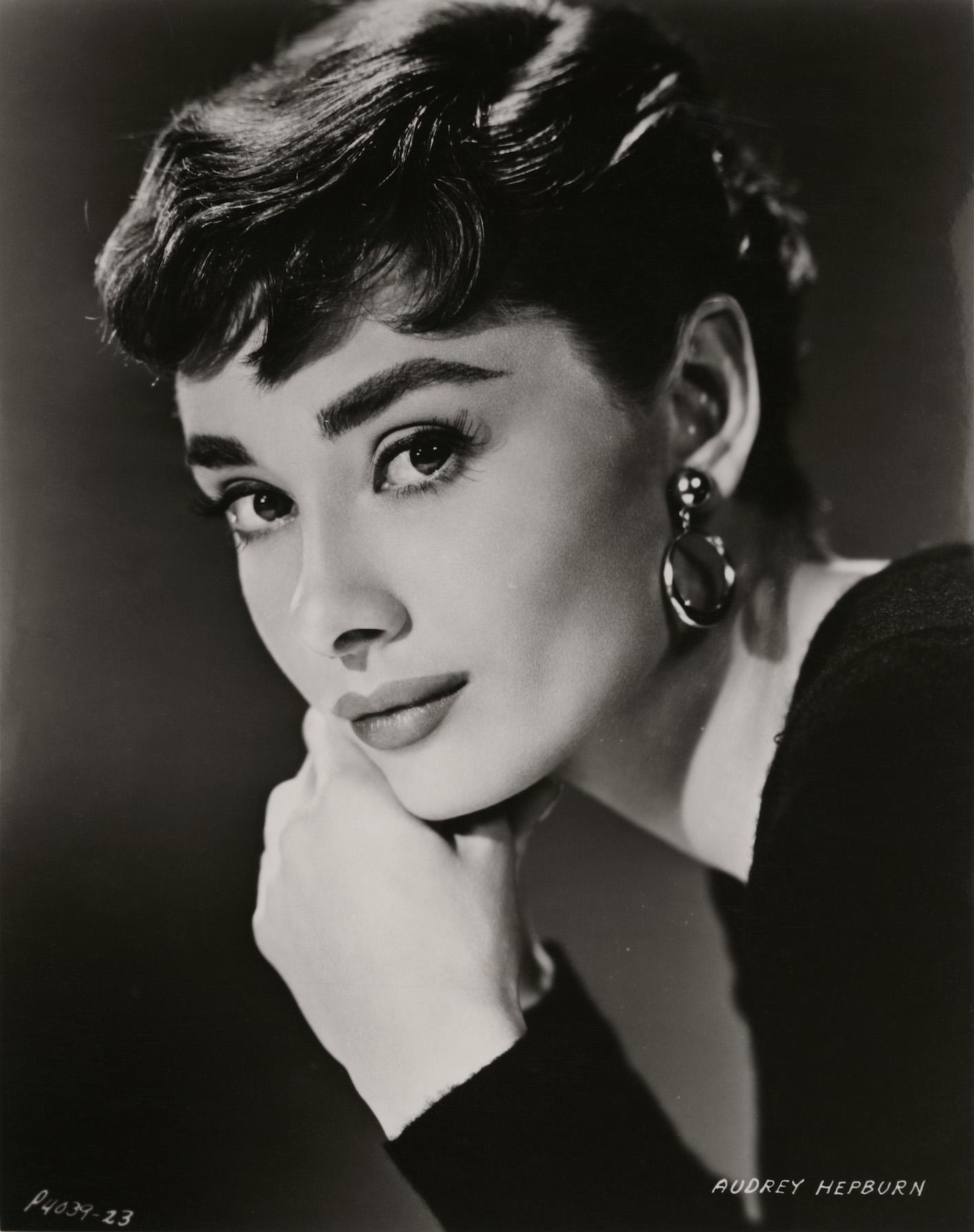 Audrey Hepburn by Bud Fraker, for 'Sabrina', Paramount Pictures, 1954