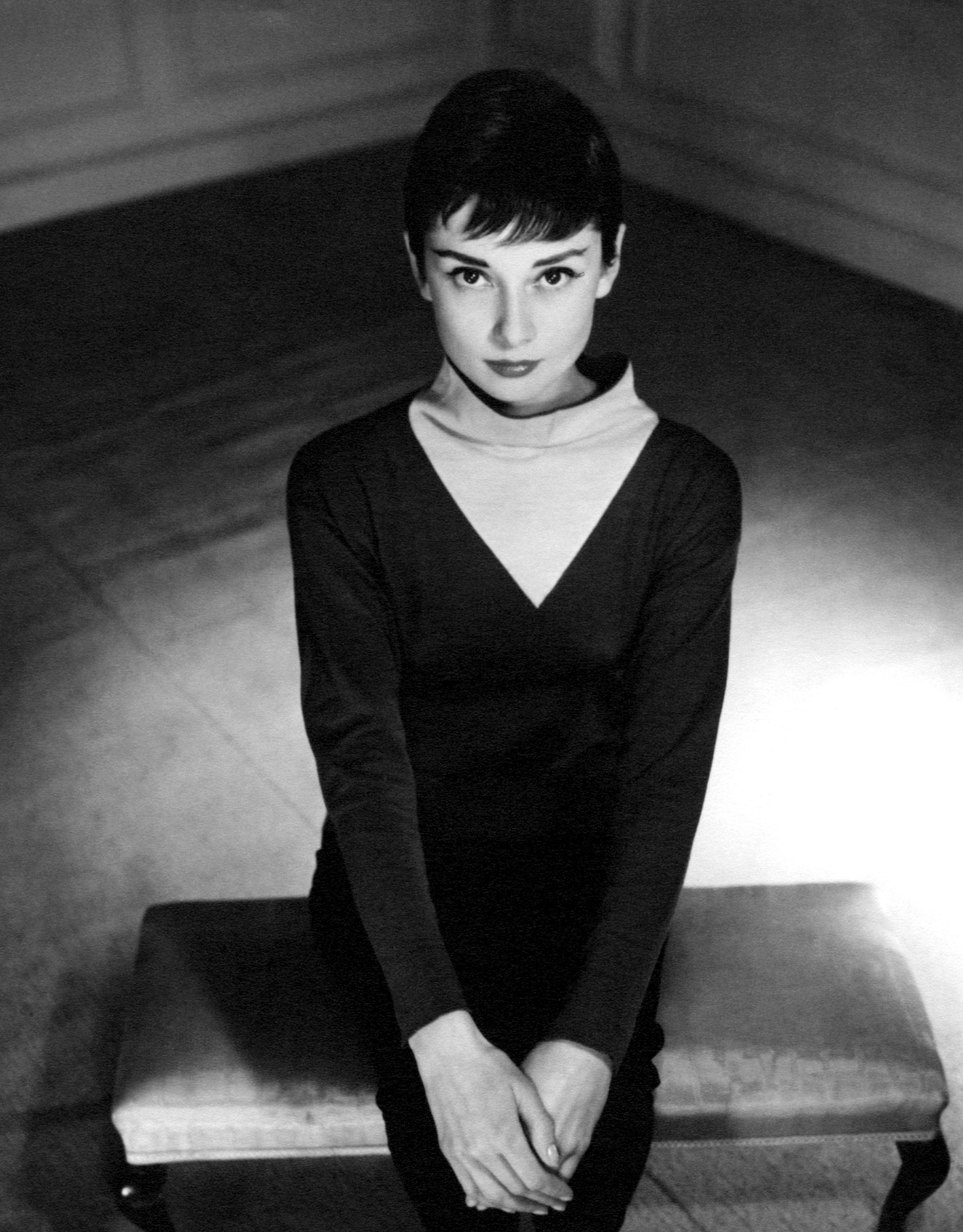 Audrey Hepburn by Antony Beauchamp, 1955 ©Reserved