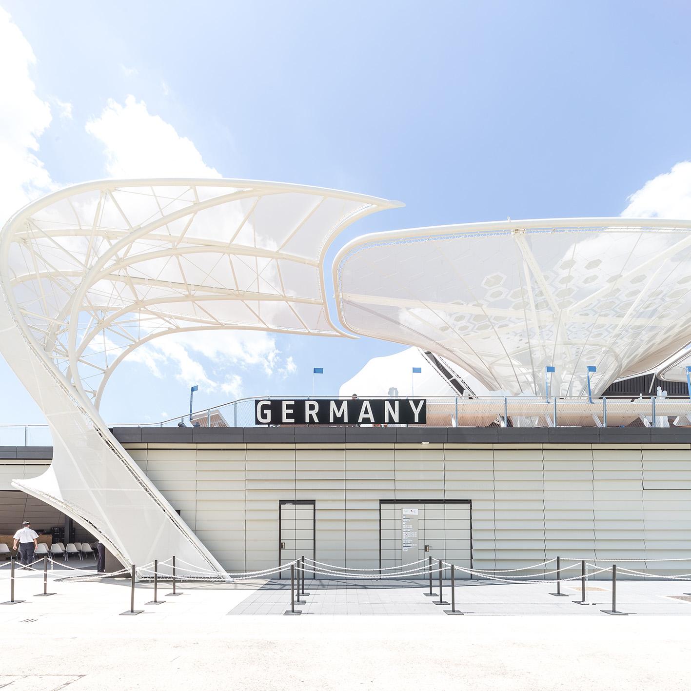 Expo Milano 2015. Padiglione Germania.