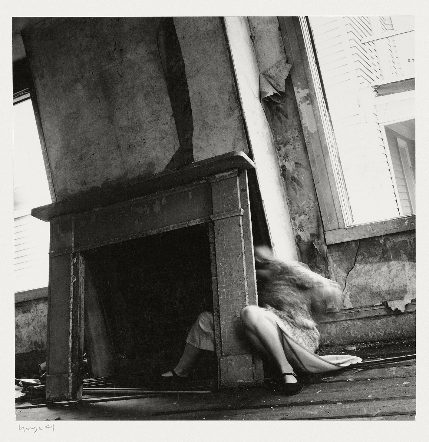 Francesca Woodman, House #4, Providence, Rhode Island,1976 © George and Betty Woodman.