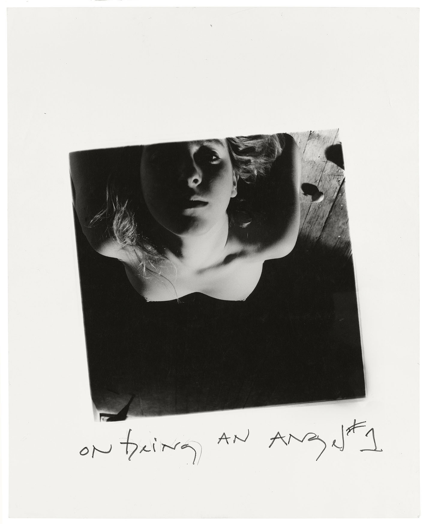 Francesca Woodman, On Being an Angel # 1, 1977. © Betty and George Woodman.