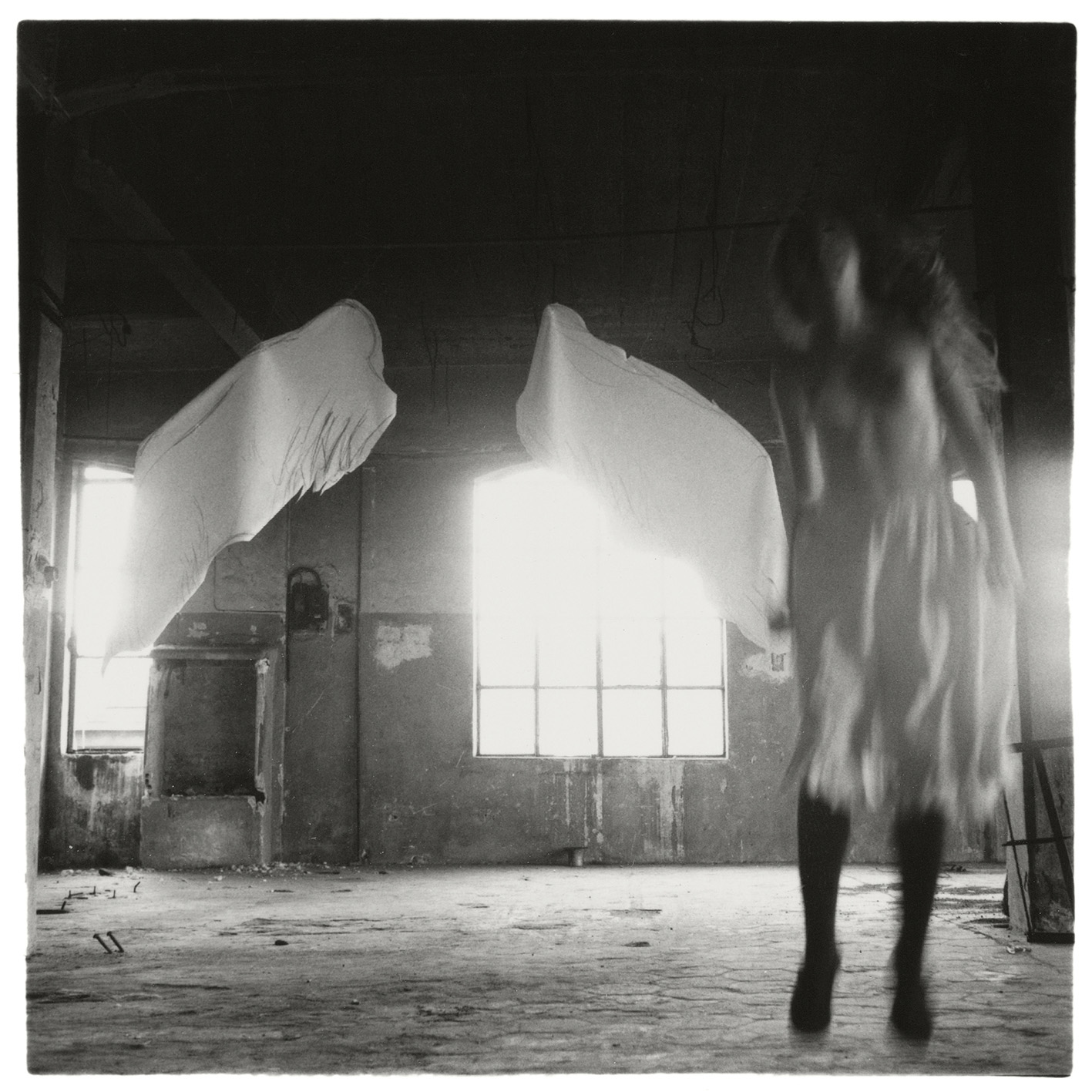 Francesca Woodman From Angel series, Rome, Italy, 1977. © George and Betty Woodman.