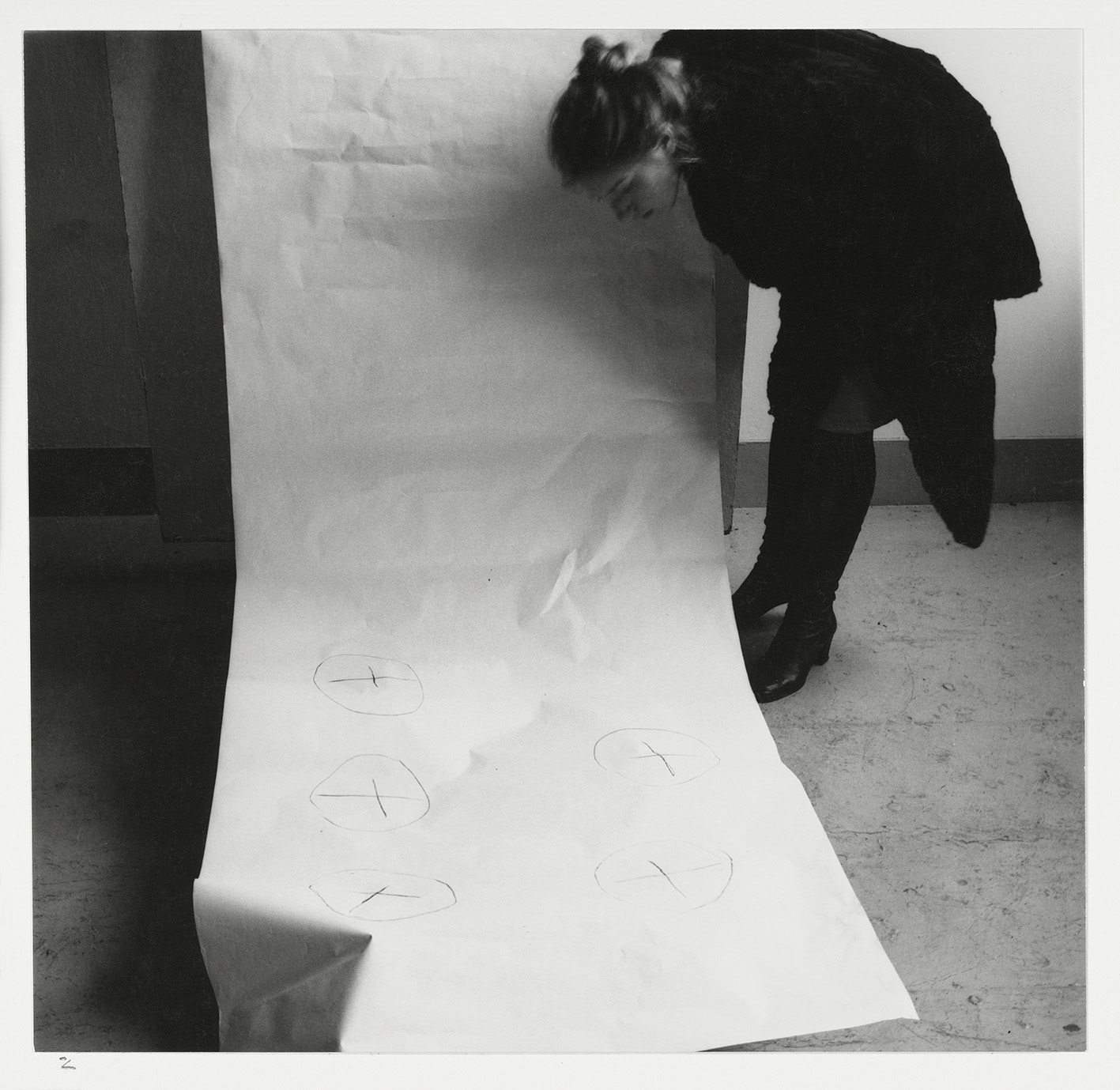 Francesca Woodman, Spring in Providence # 2, Providence, Rhode Island, 1976. © George and Betty Woodman.