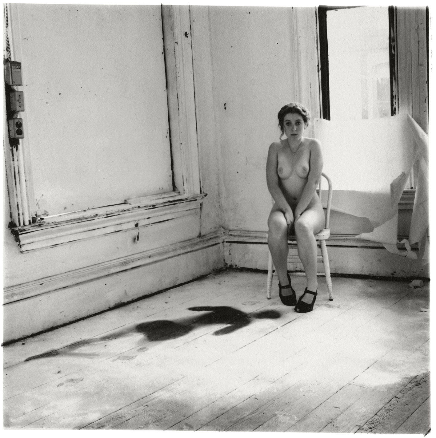 Francesca Woodman, Untitled, Providence, Rhode Island,1976. © George and Betty Woodman.