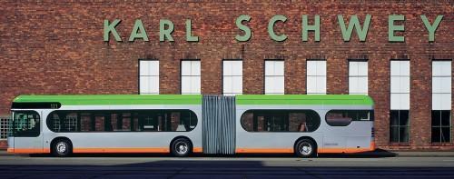 Üstra Bus, design di James Irvine per Mercedes Benz, 2000.