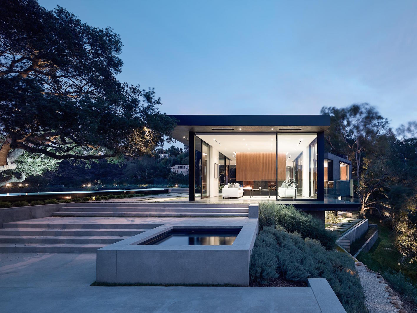 Oak Pass House, Beverly Hills.