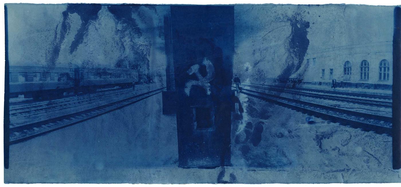 © Boris Mikhailov, Senza titolo, dalla serie At Dusk, 1993.
