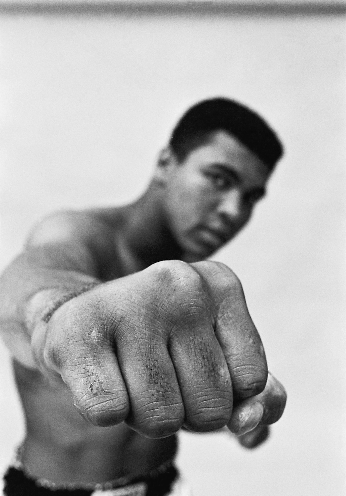 Muhammad Ali, Chicago, 1966. © Thomas Hoepker. Courtesy: Johanna Breede, PHOTOKUNST.