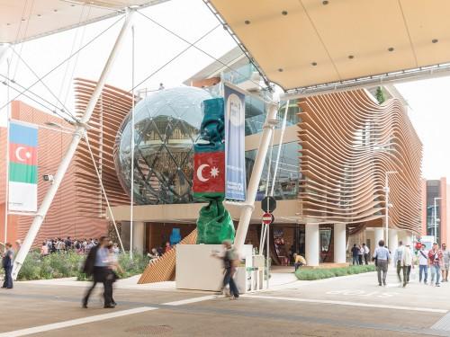 Expo Milano 2015, Padiglione Azerbaijan.