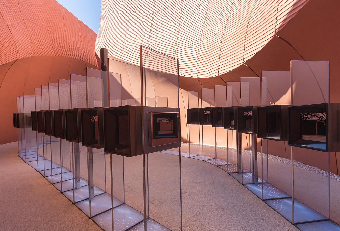 Expo Milano Stand Emirati Arabi : Expo milano padiglione emirati arabi uniti