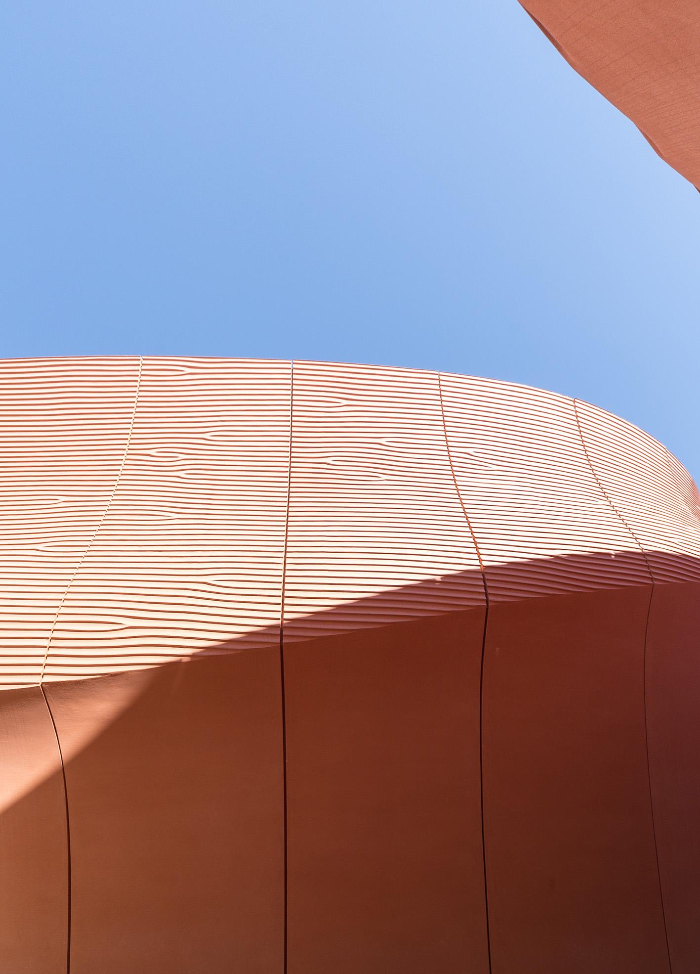 Expo Milano 2015. Padiglione Emirati Arabi Uniti.