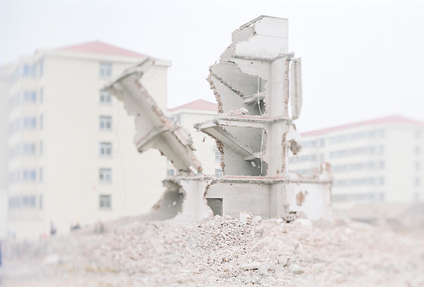 © Olivo Barbieri, Linyi, China, 2001.