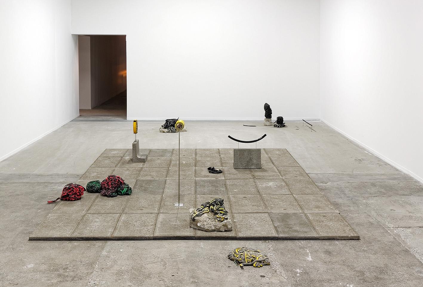 Nina Canell. Courtesy: Galerie Wien Lukatsch (Berlin), Galerie Daniel Marzona (Berlin) Mothers Tankstation (Dublin) e/and La Biennale de Lyon. Photo: © Blaise Adilon.