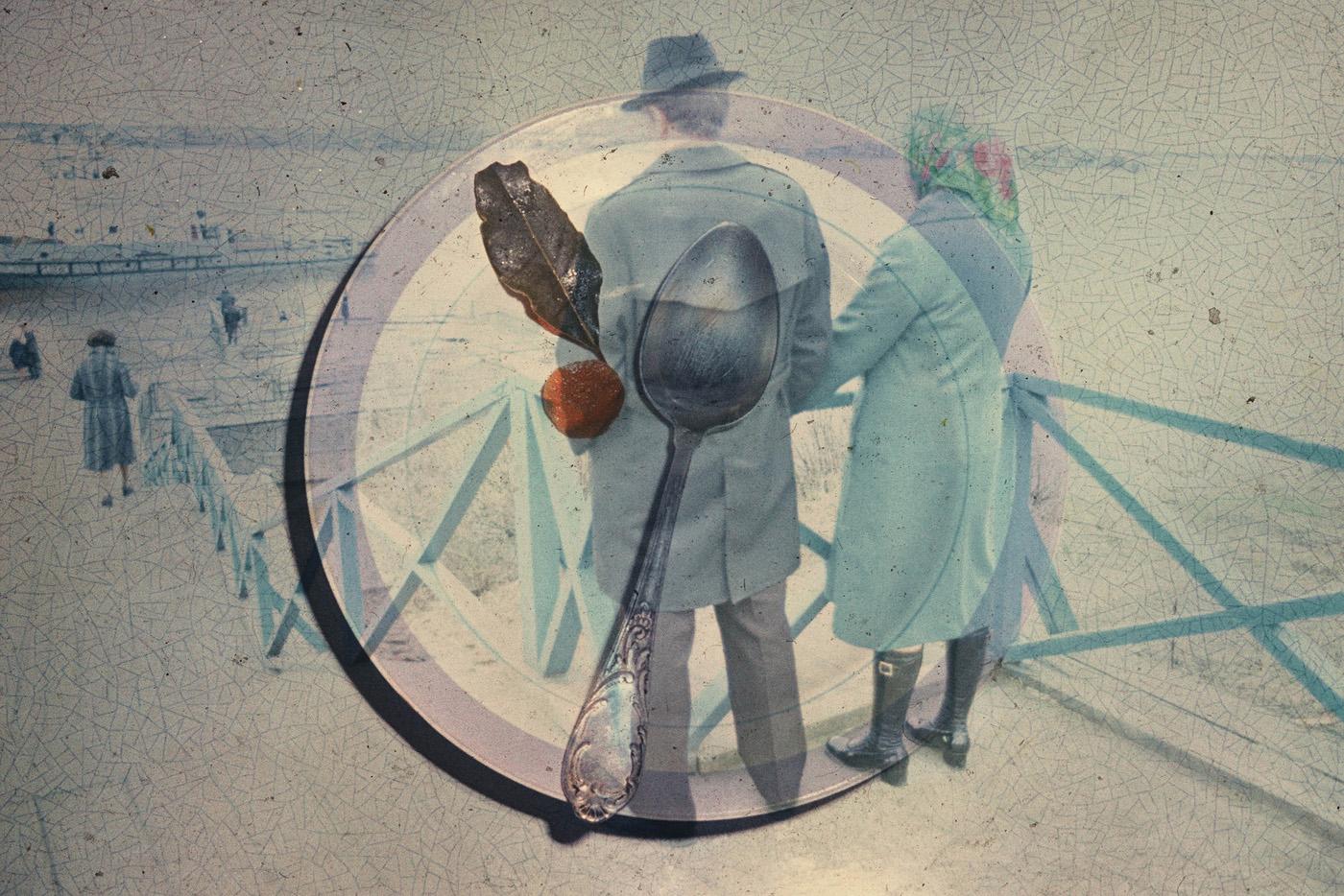 © Boris Mikhailov, Senza titolo, dalla serie Superimpositions, 1968–75.