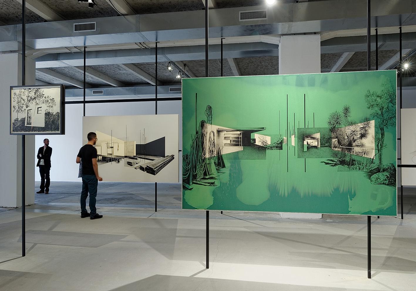 Tatiana Trouvé, Senza Titolo, Courtesy: La Biennale de Lyon. Photo: © Blaise Adilon.