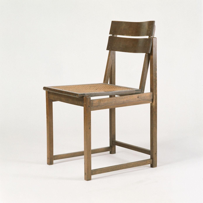Erich Dieckmann, Typenstuhl (type chair), c. 1926/1927.