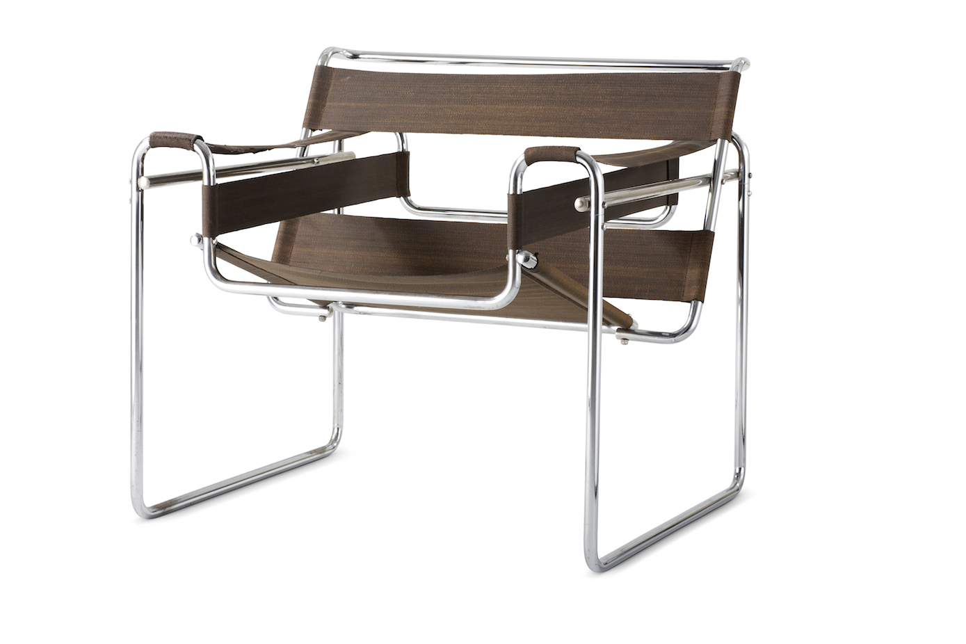 Marcel Breuer, lounge chair B 3 (known as Wassily Chair), 1925. Collection Vitra Design Museum. Photo: © Vitra Design Museum, Jürgen Hans.