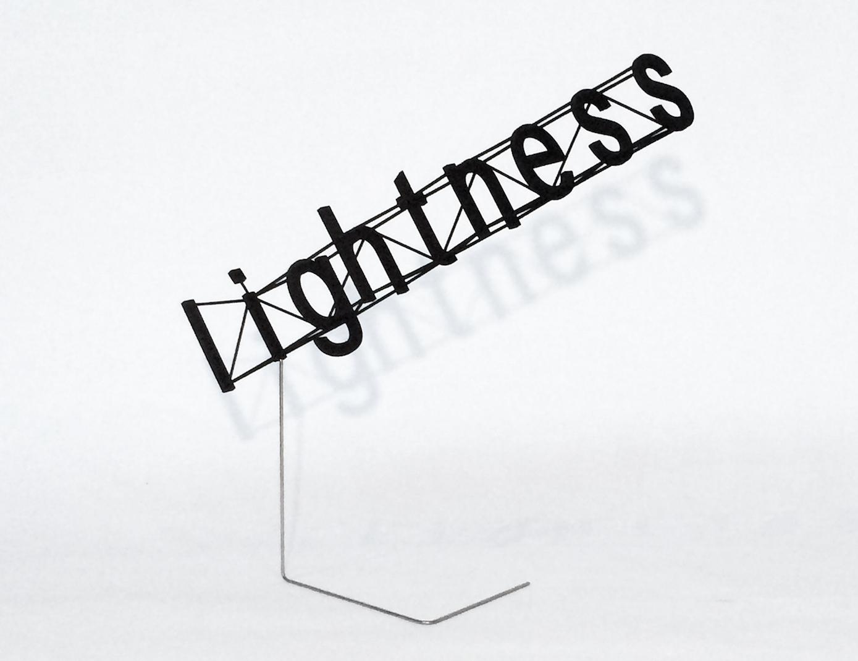 Alberto Meda, Lightness, 2015. Courtesy: Alberto Meda.