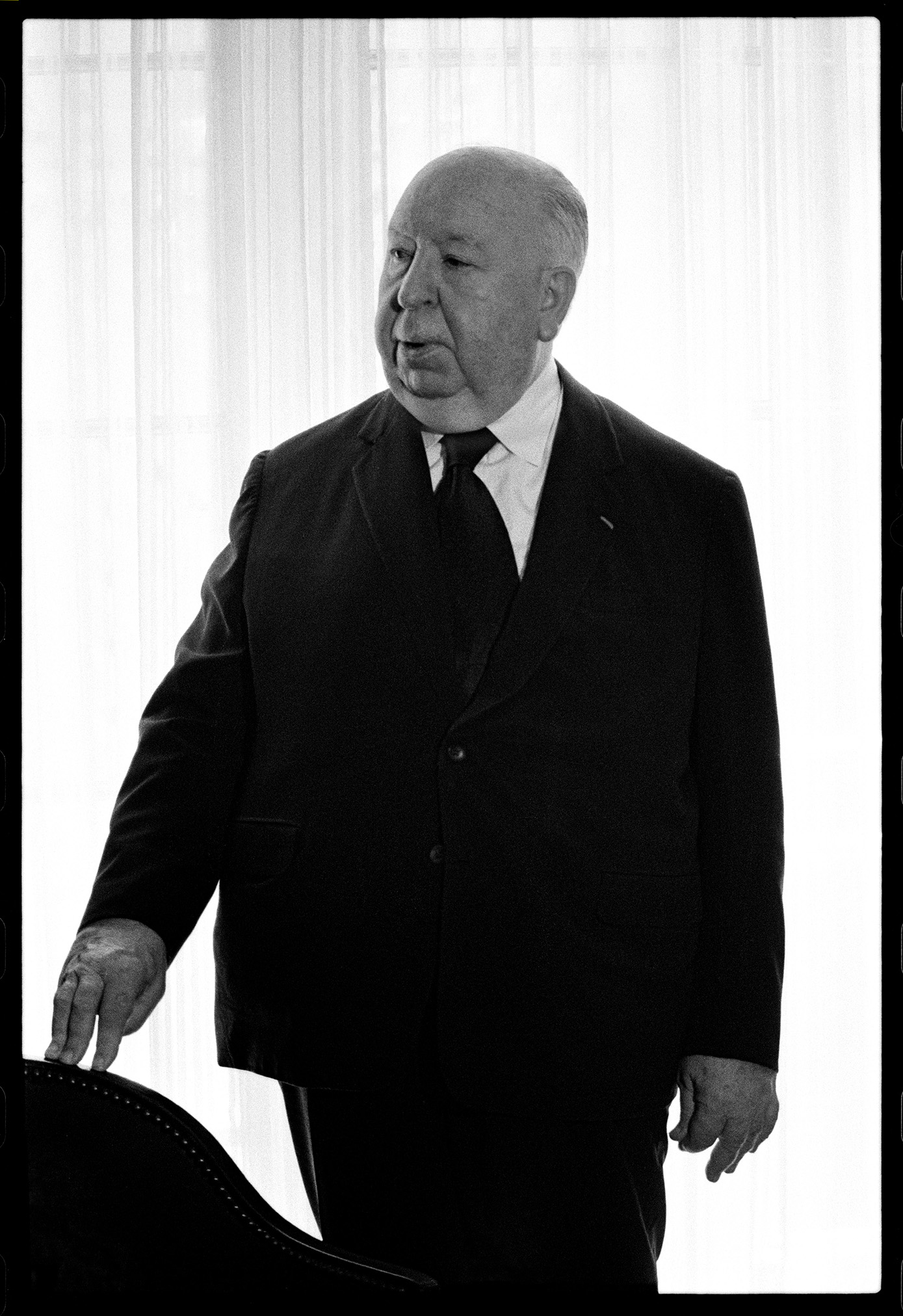Alfred Hitchcock. Foto: Timothy Greenfield Sanders.