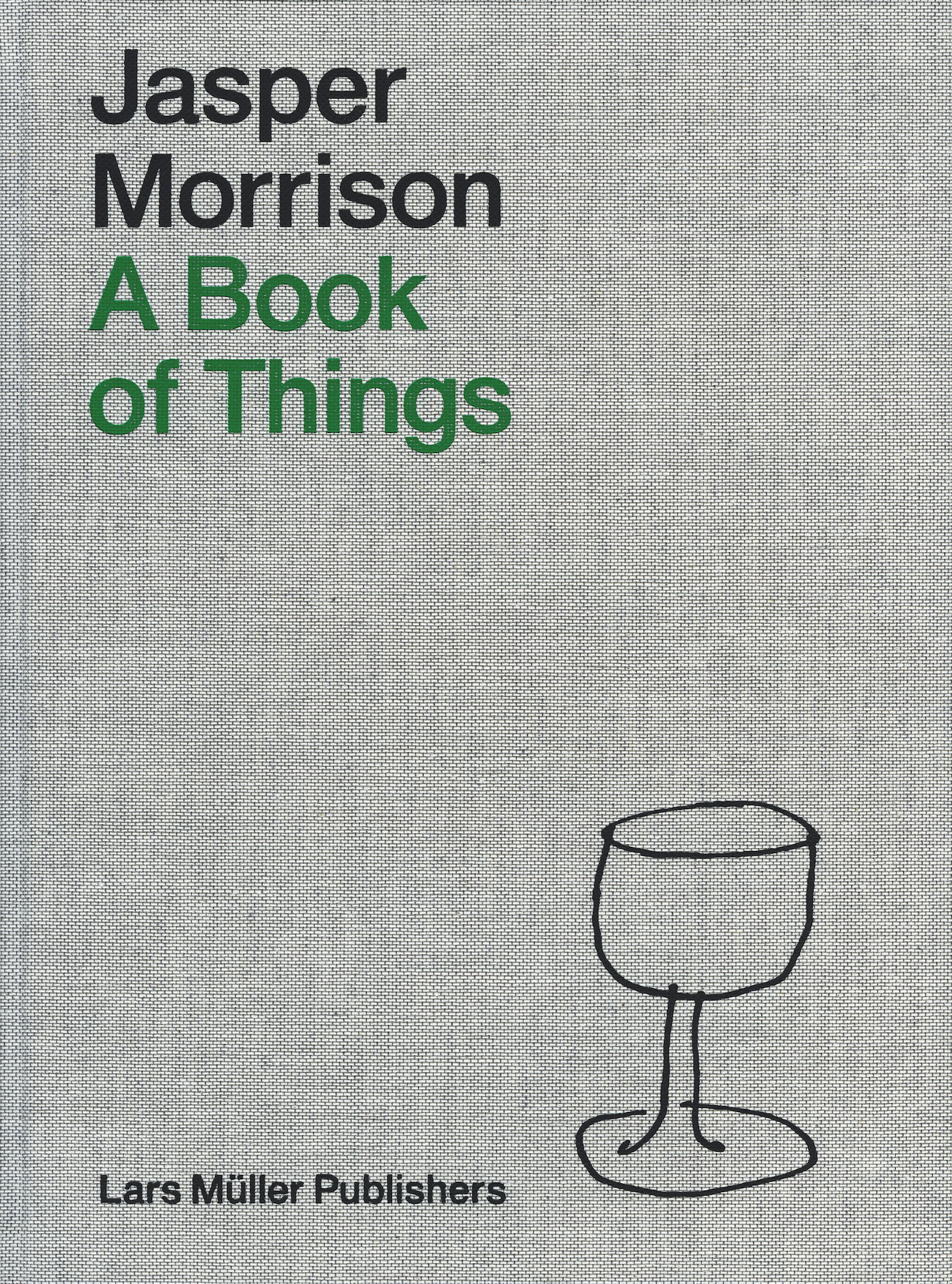 A Book of Thing di Jasper Morrison.