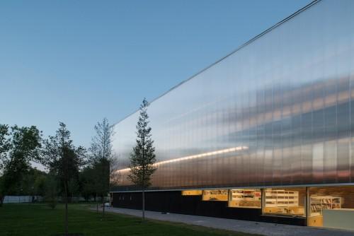 Garage Museum in Gorky Park, arch. Rem Koolhaas, 2015.