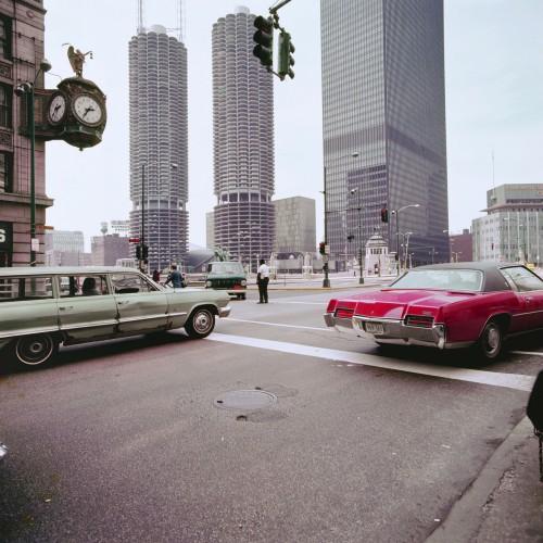 Marina City e John Hancock Center, Chicago, Illinois