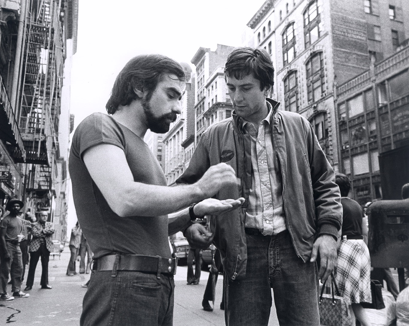 Martin Scorsese e Robert De Niro, Taxi Driver, 1976. Martin Scorsese Collection, New York.
