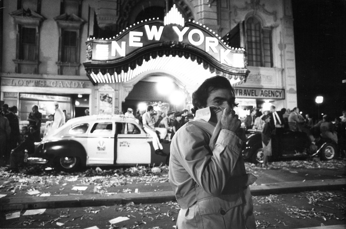 Martin Scorsese, New York, New York, 1977. Martin Scorsese Collection, New York.