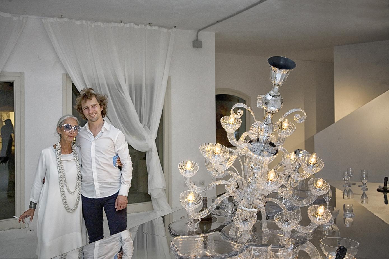 Rossana Orlandi e Maarten Baas.
