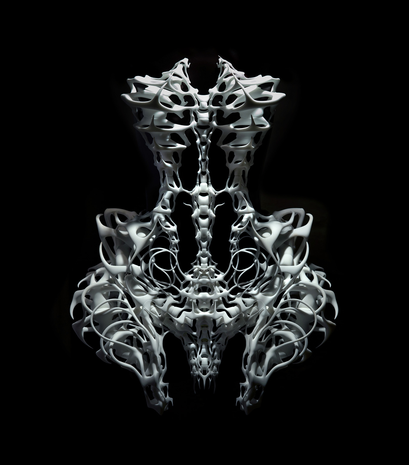Iris van Herpen, Capriole, Ensemble, July 2011. Photo: Ingrid Baars. © Iris van Herpen.