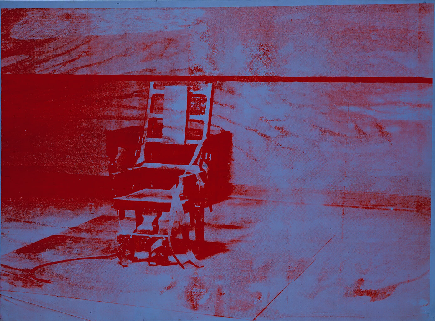 Andy Warhol (1928-1987), Big Electric Chair, 1967. © The Menil Collection, Houston. Photo by Hickey-Robertson, Houston. © The Andy Warhol Foundation for the Visual Arts, Inc. / ADAGP, Paris 2015.