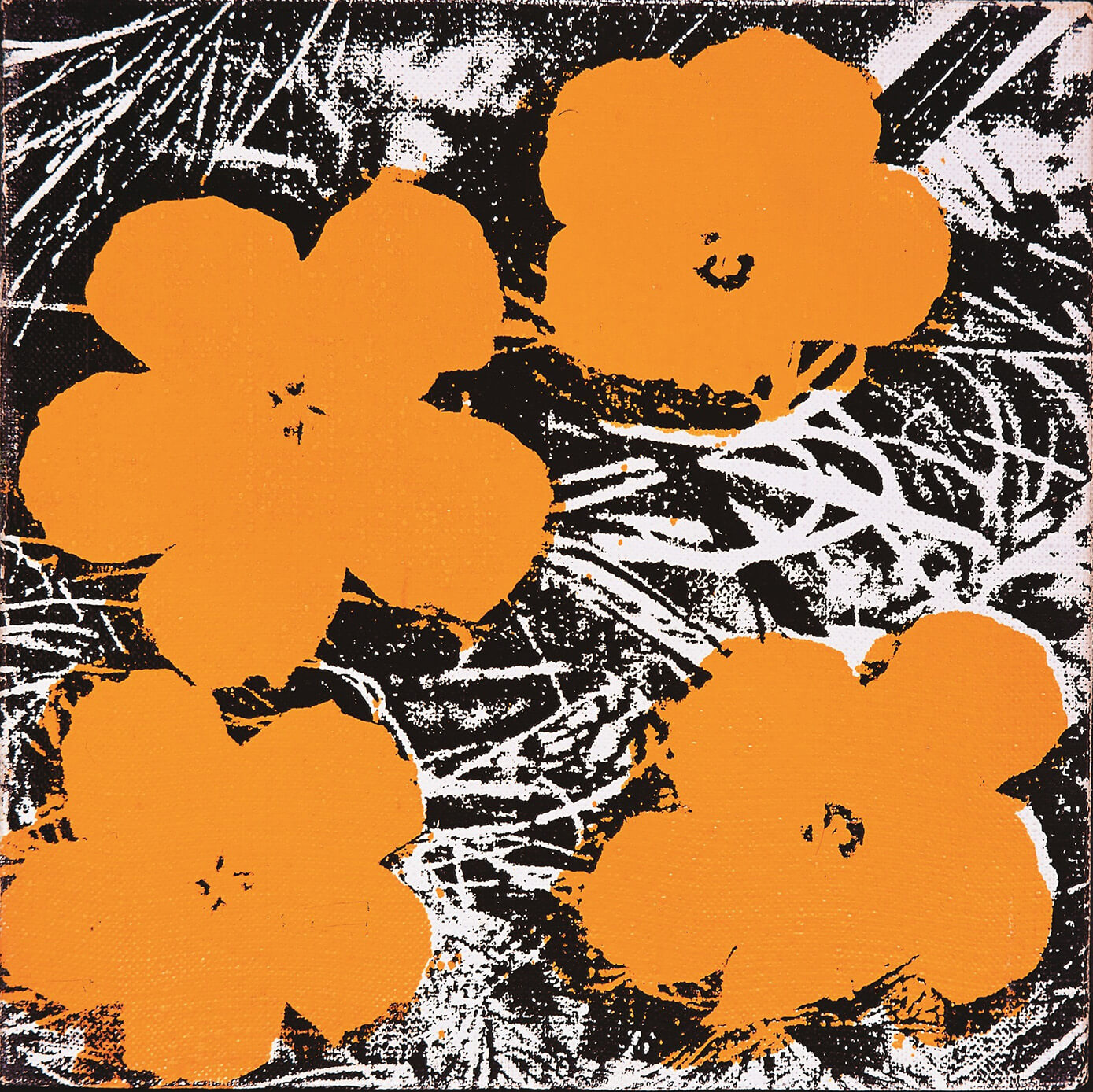 Andy Warhol (1928-1987), Flowers, 1965. © The Andy Warhol Foundation for the Visual Arts, Inc. / ADAGP, Paris 2015.