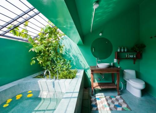 Tropical Suburb House, Ho Chi Minh City, Vietnam.