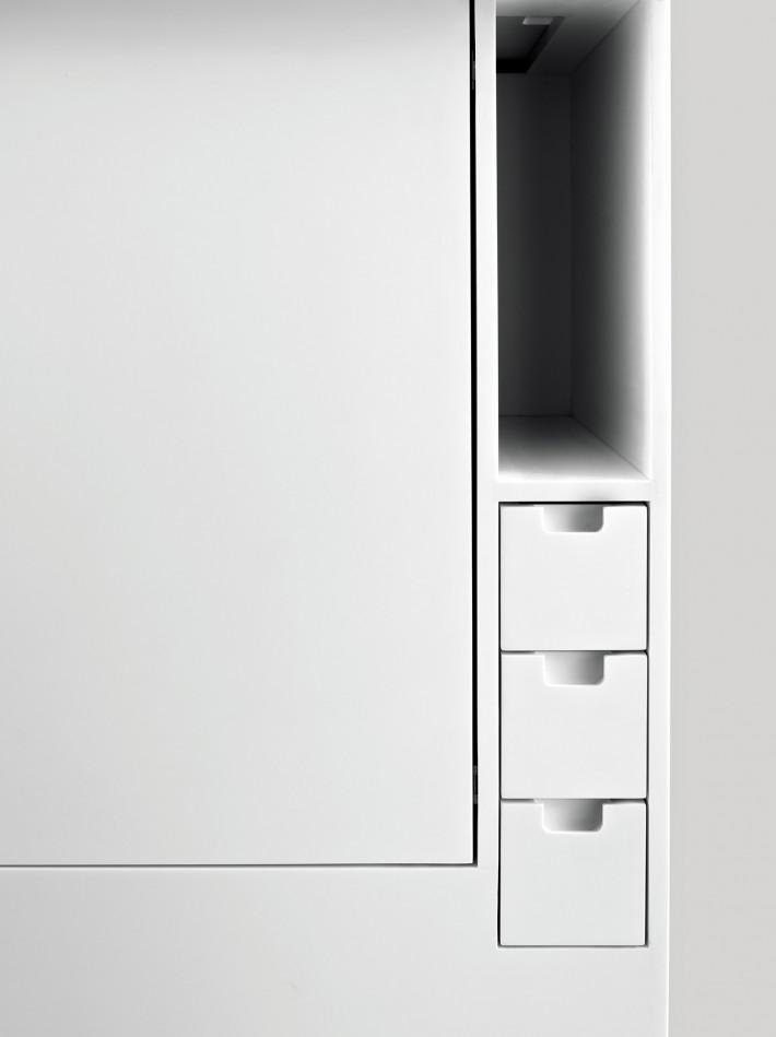 Minikitchen, design di Joe Colombo per Boffi.