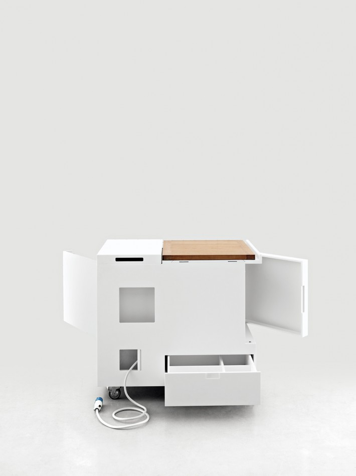 Minikitchen, design di Joe Colombo per Boffi.