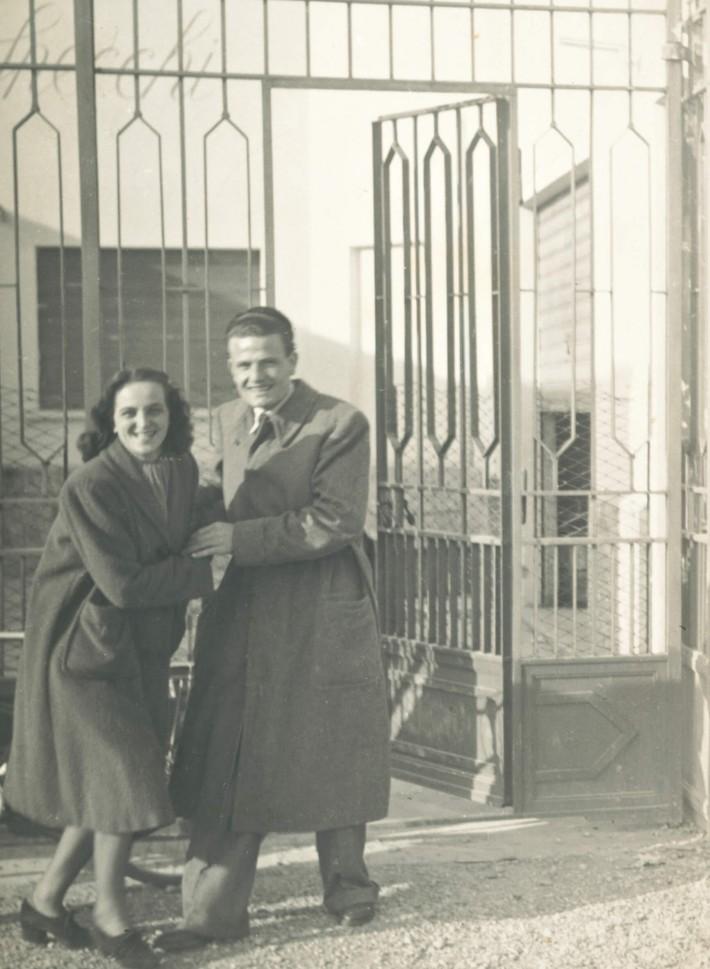 Giuseppina e Angelo Molteni, 1941.