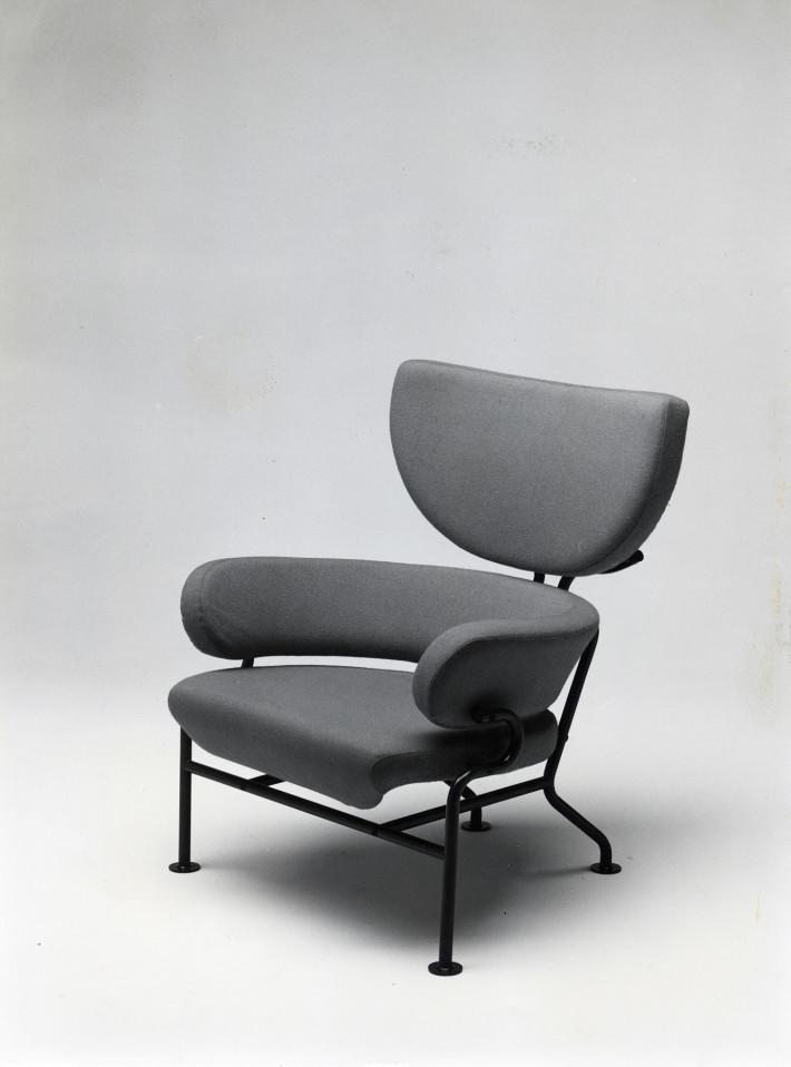 Franco Albini e Franca Helg, poltrona PL19 Tre Pezzi, Poggi, 1959.