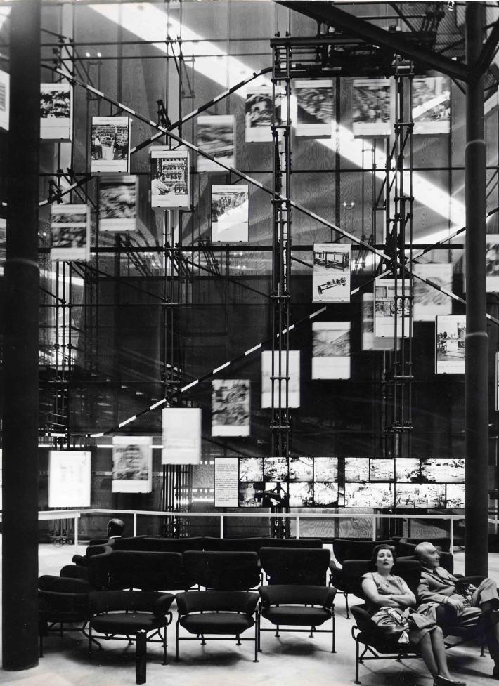 Franco Albini e Franca Helg, padiglione Olivetti, Expo Italia '61, Torino, 1961.