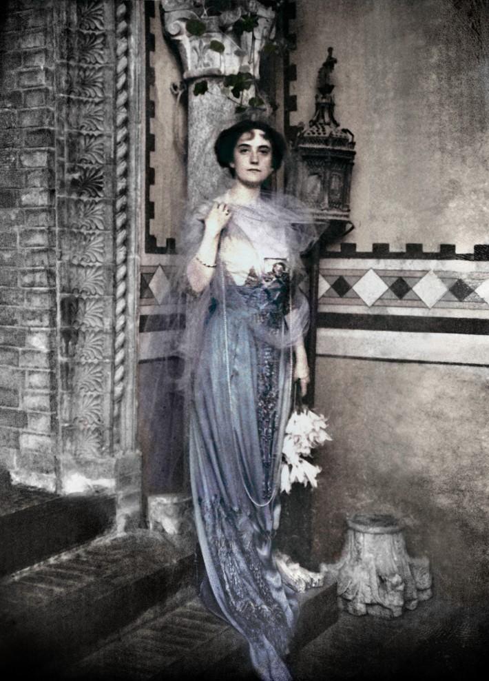 Carla Erba Visconti di Modrone, nonna di Giovanni Gastel.