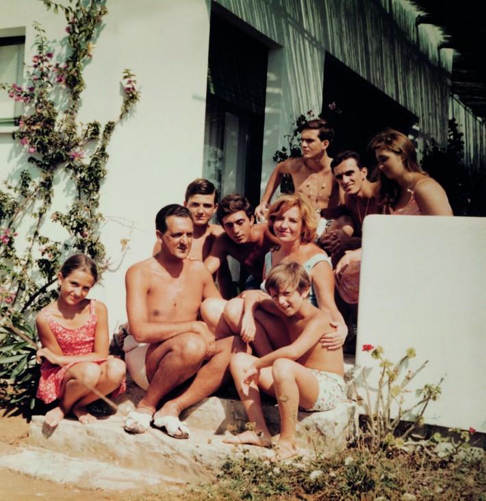 Famiglia Gastel, Sperlonga, 1963-1964.