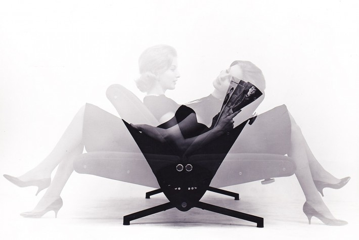 D70, design di Osvaldo Borsani, 1954.