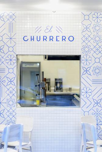 Churreria, città del Messico.