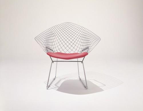 Diamond Chair, design di Harry Bertoia per Knoll.